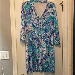 Lilly Pulitzer Ansley Polo dress wave after wave